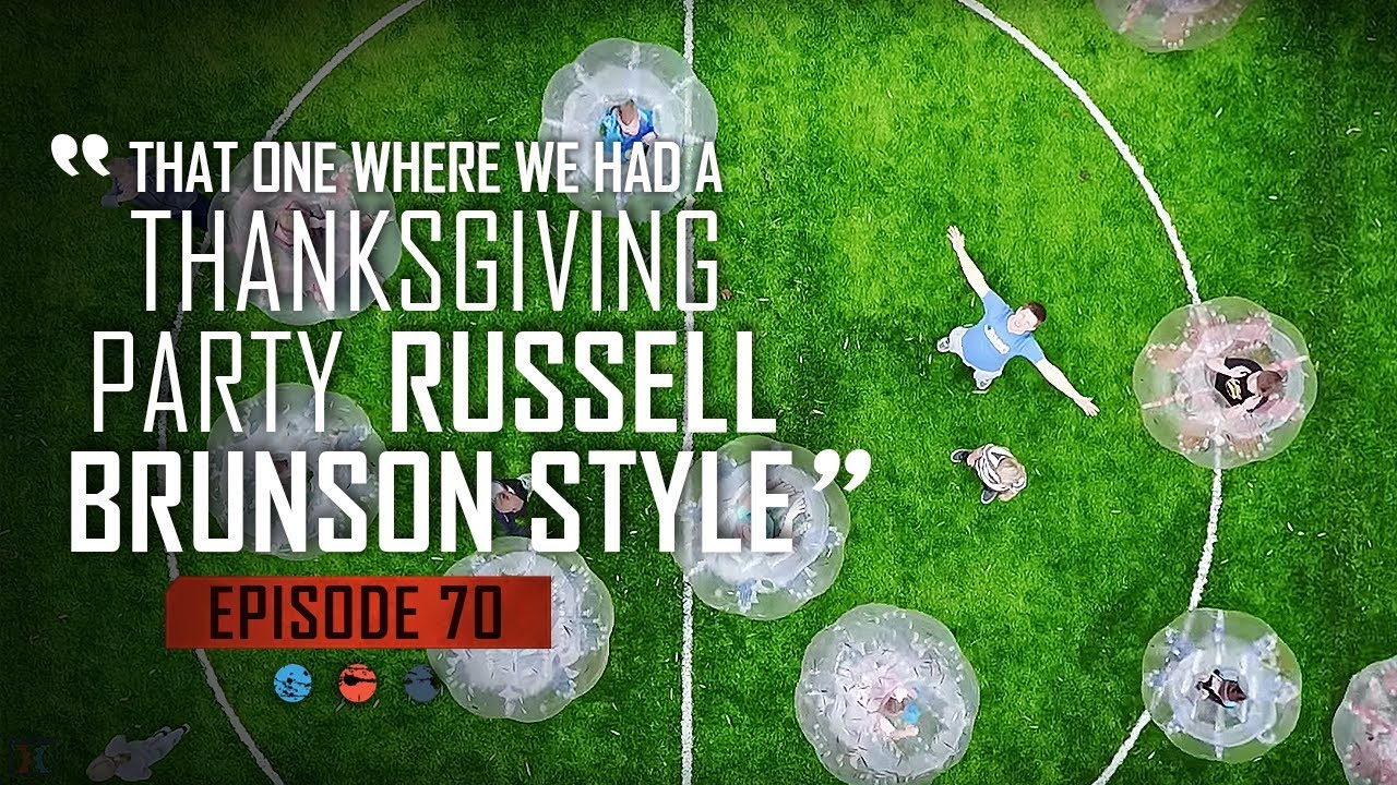 That One Where We Had A Thanksgiving Party Russell Brunson Style ... Funnel Hacker TV Episode 70