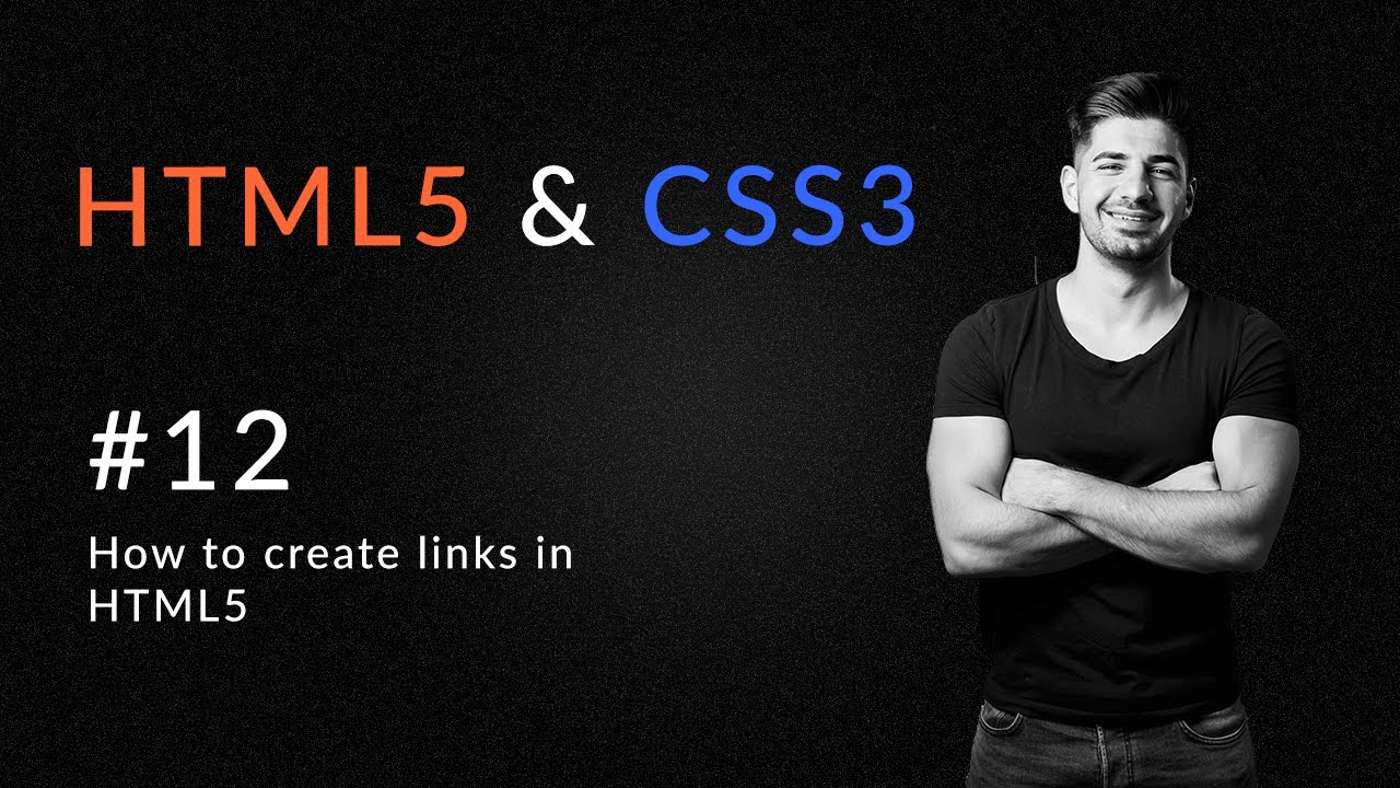 How to Create Links in HTML5 - Introduction and Learn HTML5 and CSS3.