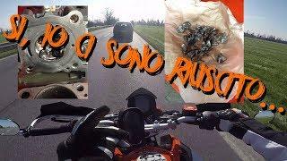 COME HO GRIPPATO UNA KTM DUKE 125 + FINALMENTE IL SOLE PURE QUI!