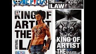 One Piece Trafalgar Law King of Artist Banpresto figure Japan FOJ