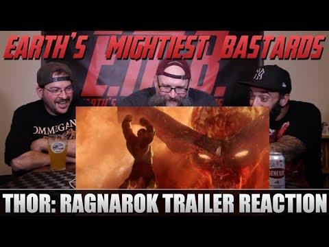 Trailer Reaction: Thor: Ragnarok