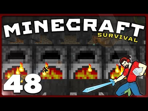 Minecraft Survival | FURNACES AND FACEPALMS!  || [S01E48] Vanilla 1.12 Lets Play