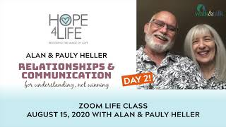 Day 2 of Alan & Pauly Heller at Hope4Life