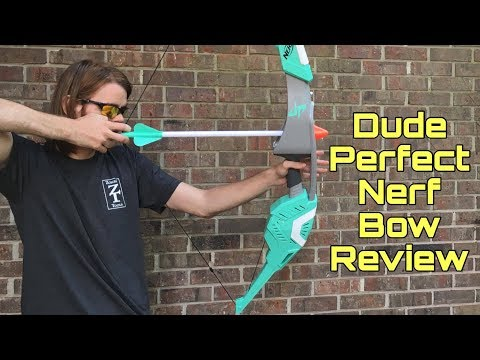 Honest Review: The Dude Perfect Nerf Bow + Target