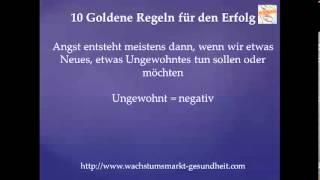10 goldene Regeln für den Erfolg Folge 7