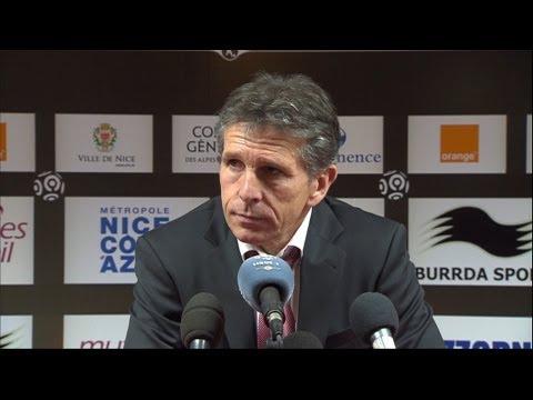 Conférence de presse OGC Nice - Montpellier Hérault SC (2-0) / 2012-13