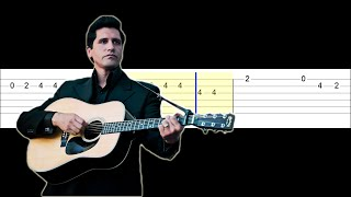 Johnny Cash - You Are My Sunshine (Easy Guitar Tabs Tutorial)