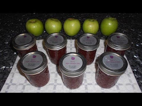 Apple Cinnamon Jelly - With some KICK