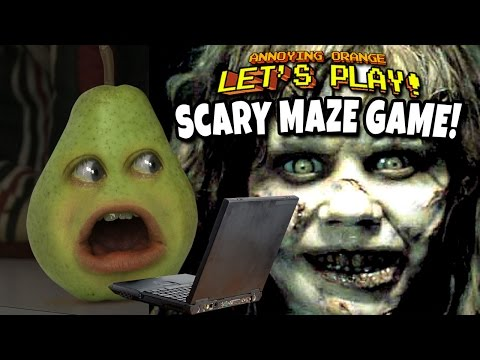 Annoying Orange - Scary Maze Game FREAKOUT!