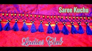 Saree Tassels I Saree Kuchu making using Beads I Latest Kucchu Designs I Gonde designs