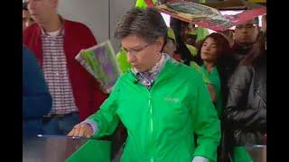¿Claudia López mandaría el Esmad si en una protesta bloquean Transmilenio?