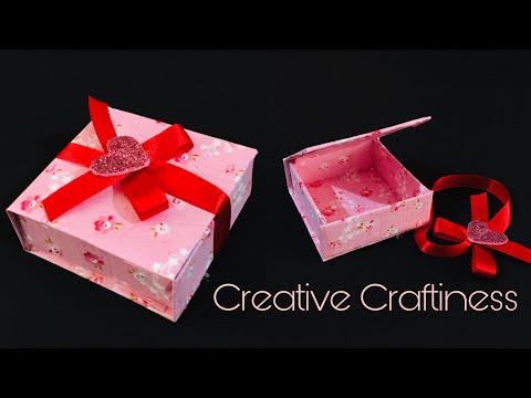 DIY Gift Box   Handmade Gift Box   Easy Paper Craft
