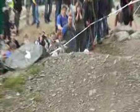 Downhill Marcus Klausmann crash... Wheels of Speed Willingen
