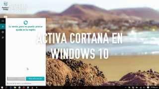 ACTIVAR CORTANA EN WINDOWS 10 ESPAÑOL CUALQUIER PAÍS - Boticelli Express