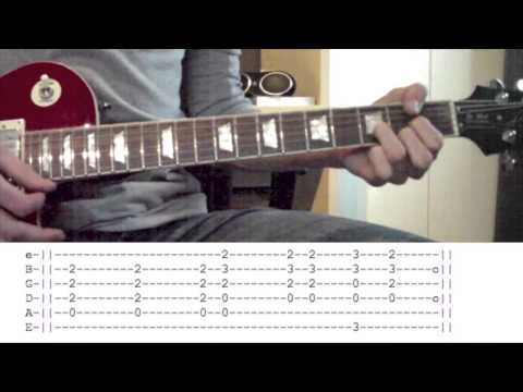 Highway To Hell Guitar Lesson WITH TABS