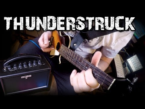 Thunderstruck by AC/DC (Ukulele Cover)