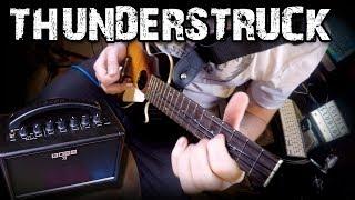 Thunderstruck by AC/DC | Ukulele Cover - rock and roll music ukulele