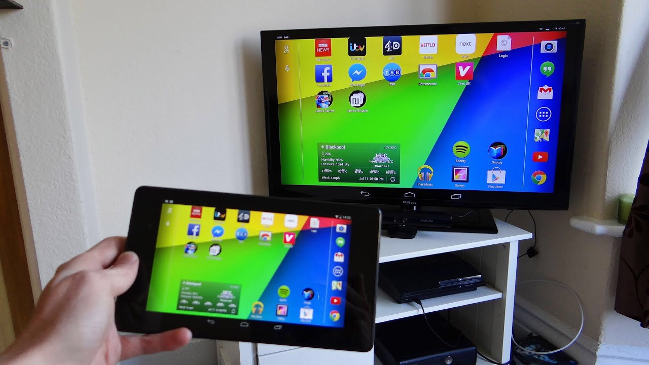 How To Connect Android Phone To Lcd Screen By Screen