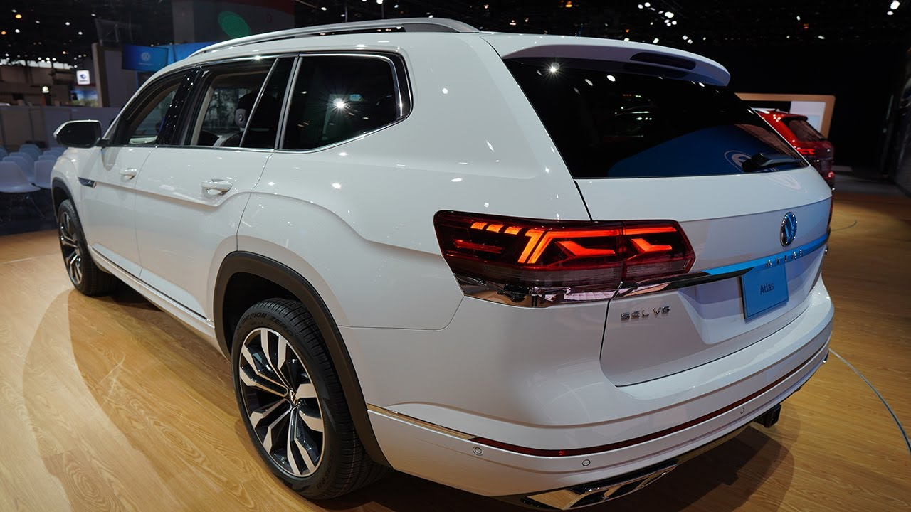 2021 Volkswagen Atlas R Line 2020 Chicago Auto Show - YouTube