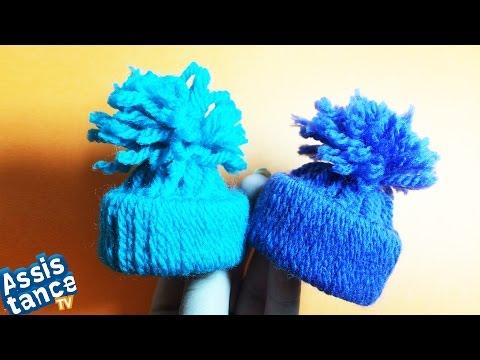 Как сделать шапку из пряжи