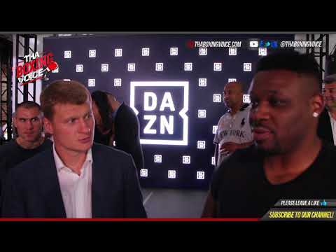 Jarrell Miller Irate Ask's Alexander Povetkin to Join Camp Offer's Sparring For Anthony Joshua