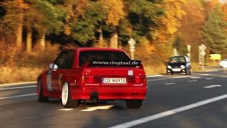 Bmw m3 e30 with a v8!! - loud acceleration