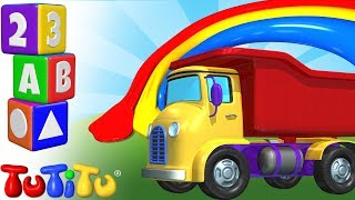 TuTiTu Préscolaire | Apprendre les couleurs aux enfants en anglais | TuTiTu Camion