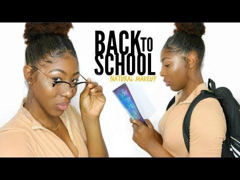 NATURAL School Makeup Tutorial // NO FOUNDATION!!!