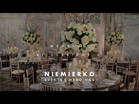 Claridge's and St George's Church, Mayfair, luxury wedding planned by Niemierko Weddings
