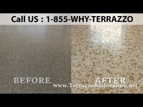 How to Clean and Restore Terrazzo Floors Service in Miami