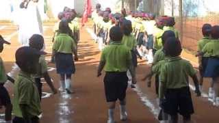 Kids Doing March Past