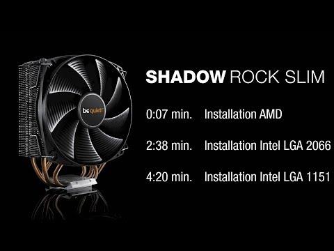 BK013 Shadow Rock 2 be quiet 180W TDP Intel: LGA 775 // BK013 CPU Cooler