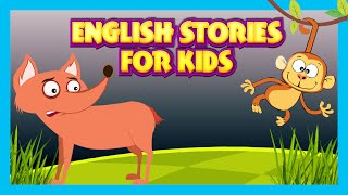 KIDS ENGLISH STORIES | Popular Stories for Children in English | Big Bad Wolf and More