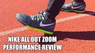 NIKE ALL OUT ZOOM (LOW)   REVIEW - YouTube