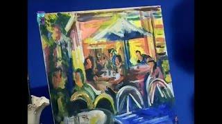 "Уроки рисования (№ 138). Рисуем картину ""В кафе"""