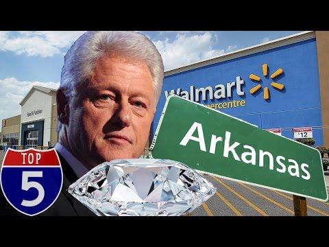Top 5 Arkansas Strange Facts