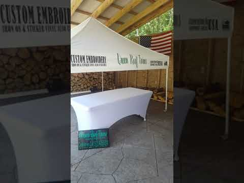 Festival and Craft Booth Setup