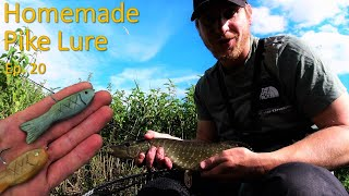 River Foss Fishing Ep 20 Homemade Pike Lure