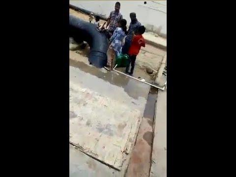 Water Board Main Peene Ka Saaf Pani Zaya Ho Raha Ha - Karachi