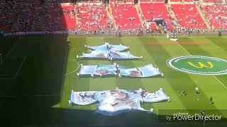 Manchester city vs Chelsea - Match opening ceremony
