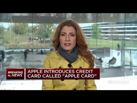 Apple Introduces Credit Card Called 'Apple Card'