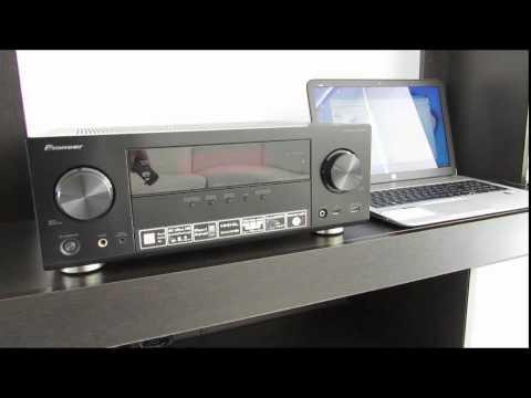 Receptor AV Pioneer VSX: Escuchar música del PC sin cables