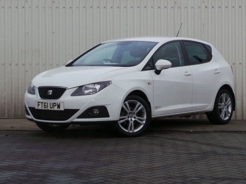 2012 61 seat ibiza 1 4 se copa 5dr in white youtube. Black Bedroom Furniture Sets. Home Design Ideas