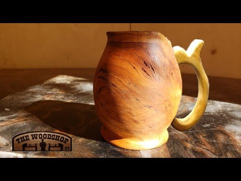 Woodturning Wooden Beer Stein   Carl Jacobson