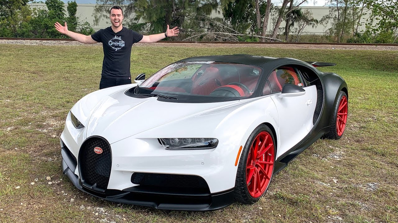 BUGATTI CHIRON FIRST DRIVE REVIEW! WORTH $4 MILLION?