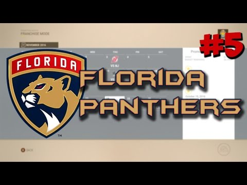 "NHL 17: Franchise Mode | Florida Panthers #5 ""End of the Season"""