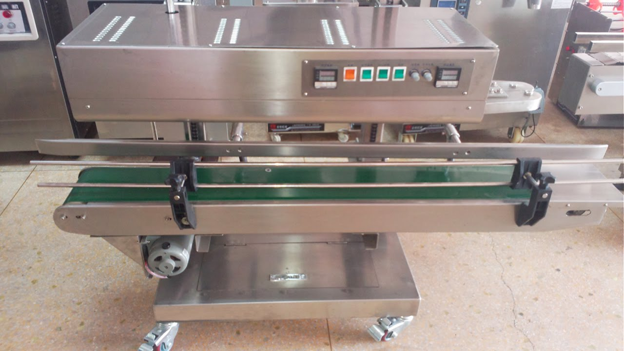 heat sealer equipment vertical plastic bags sealing machine semi automatic  máquina de sellado bolsas