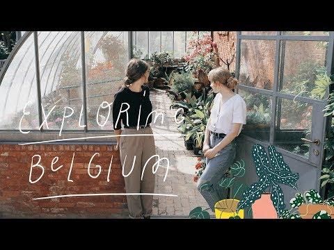 Travel Vlog Belgium // (Ghent, Antwerp, Photo Shoot, Places)
