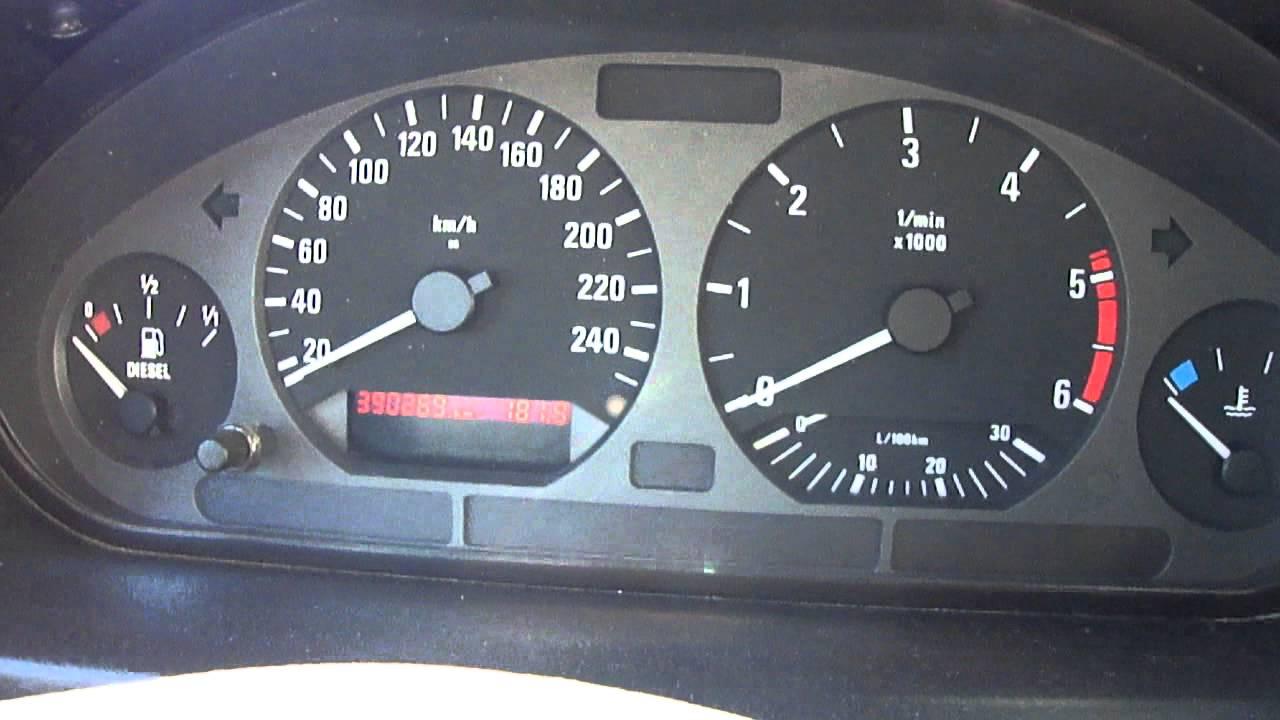 BMW E39 M5 >> Buzz compteur BMW e36 - YouTube
