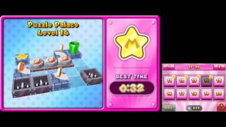Mario and Donkey Kong: Minis on the Move - 100% Walkthrough - Puzzle Palace Levels 11-20